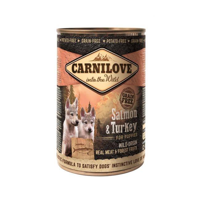 Carnilove Wild Meat Puppy Salmon & Turkey (400 gram)