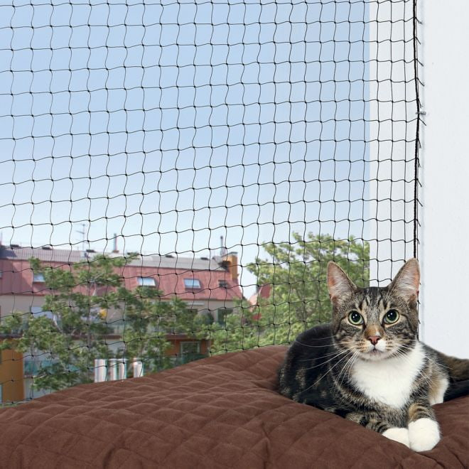 Trixie Protect Kattnät Svart**