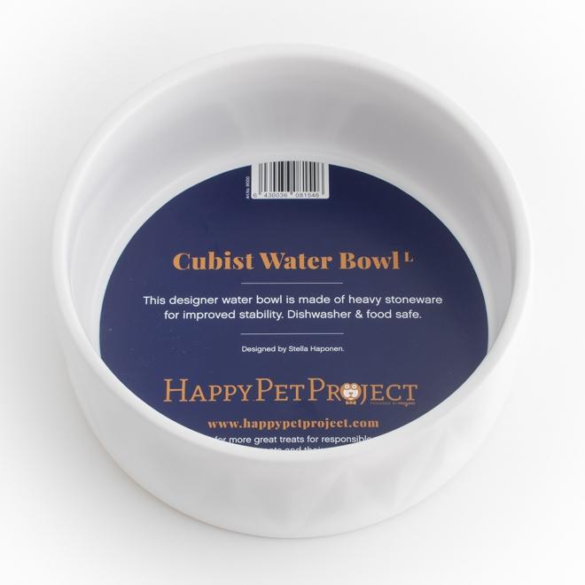 Happy Pet Project  Cubist Vattenskål