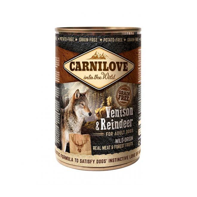 Carnilove Wild Meat Venison & Reindeer (400 gram)