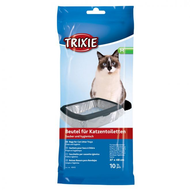 Trixie Kattlådspåsar 10-pack 37 x 48 cm