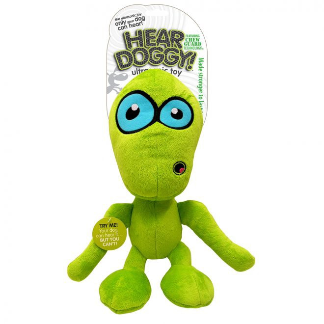 Hear Doggy Alien Lime Stor