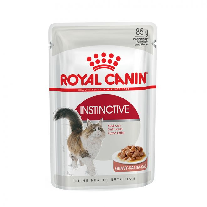 Royal Canin Instinctive in Gravy (85 gram)**