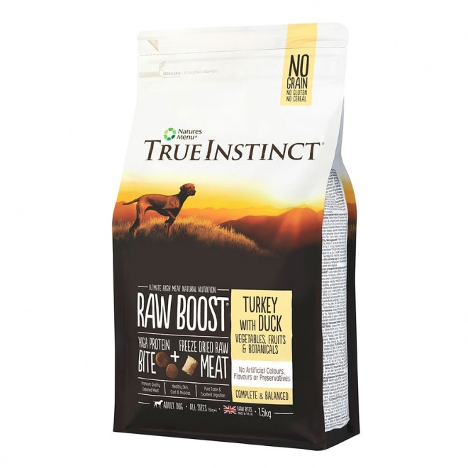 TrueInstinct RawBoost Dog Turkey & Duck (1,5 kg)