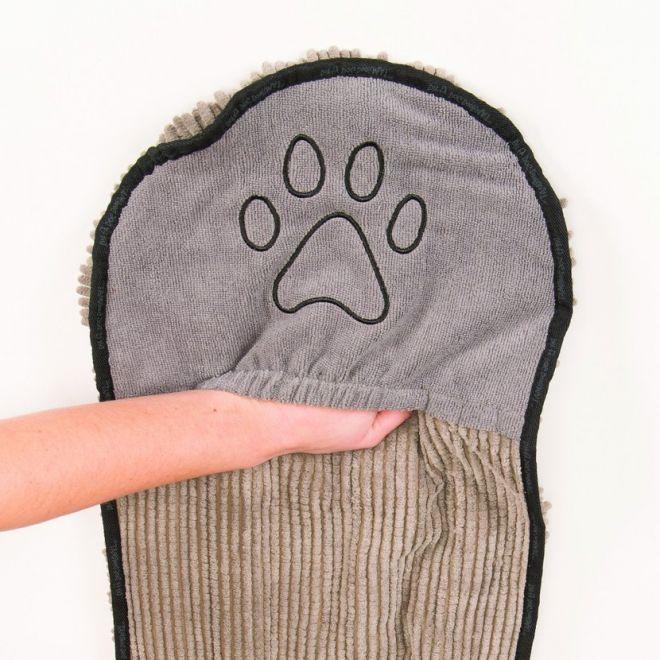 Dirty Dog Shammy Handduk Grå (Grå)**
