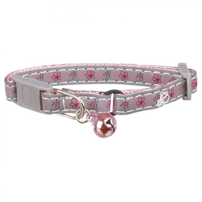 Trixie Halsband Kattunge Blomma/Fjäril/Reflex