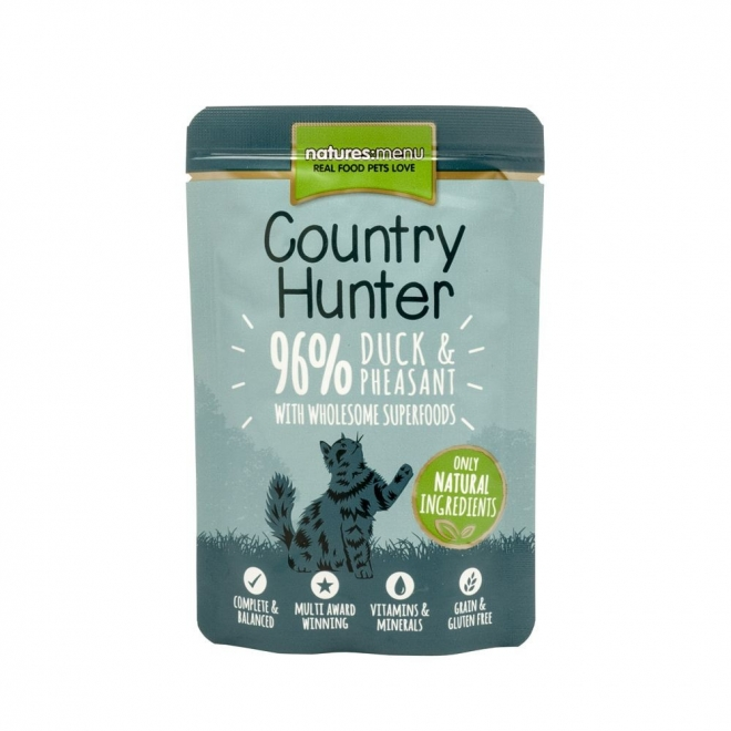 Natures:menu Country Hunter Cat Duck & Phesant 85 g