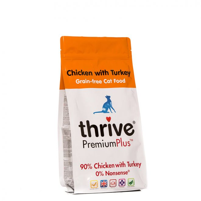 Thrive Premium Plus Kyckling & Kalkon