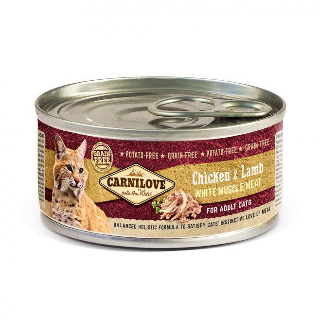 Carnilove Cat Kyckling & Lamm (100 gram)**