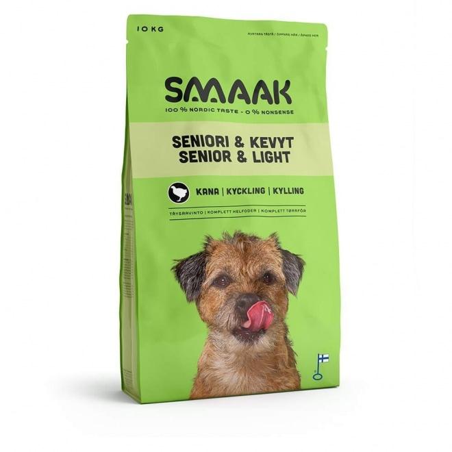 Smaak Dog Senior & Light Kyckling (10 kg)