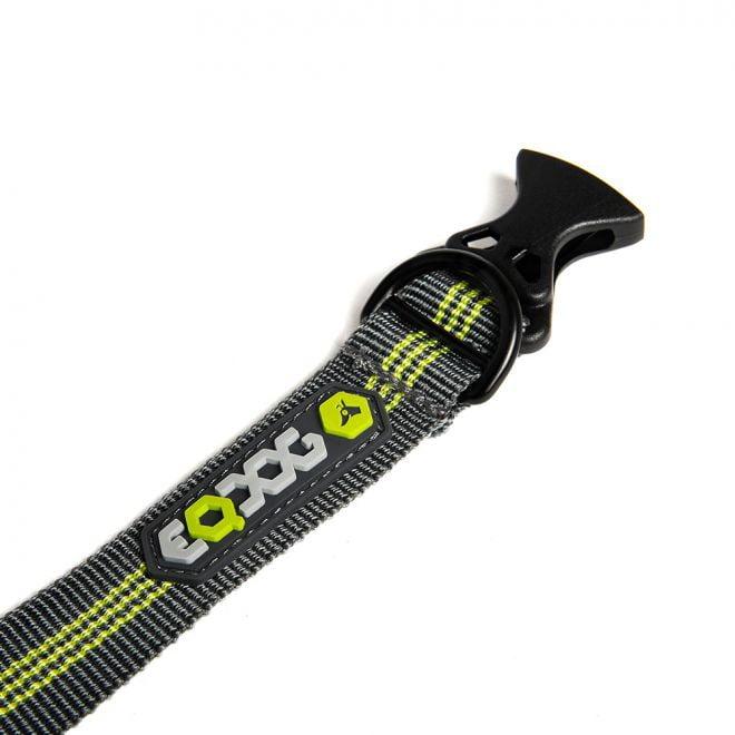 EQDOG Classic Halsband Mörkgrå/Grön