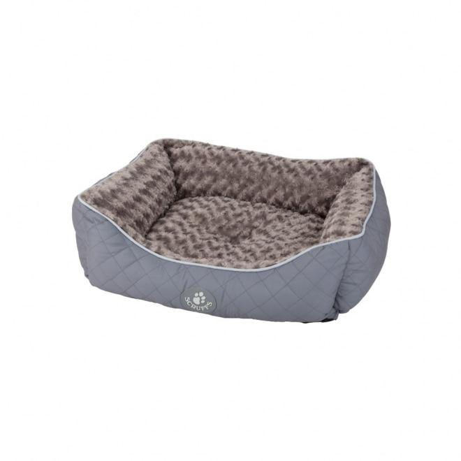 Scruffs Wilton box Bädd grå