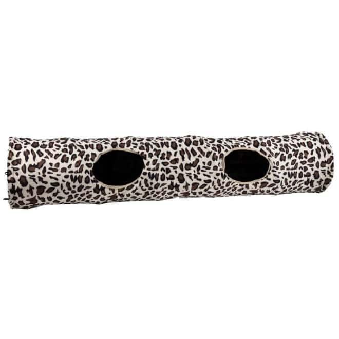 Little&Bigger Katt Tunnel Prasslig Leopard