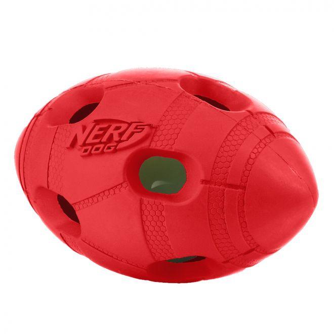 Nerf LED Bash Fotboll (Röd)