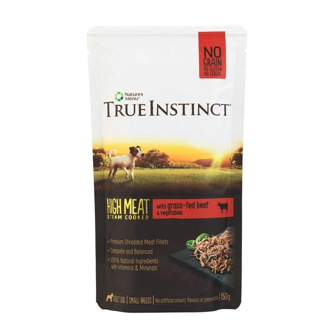TrueInstinct Dog nötkött 150 g
