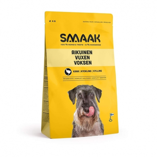 Smaak Dog Adult Kyckling (2 kg)