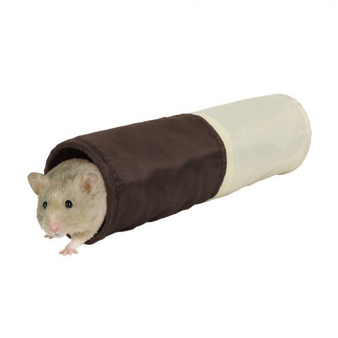 Trixie Lektunnel för hamster ø 6x25cm (Polyester)**