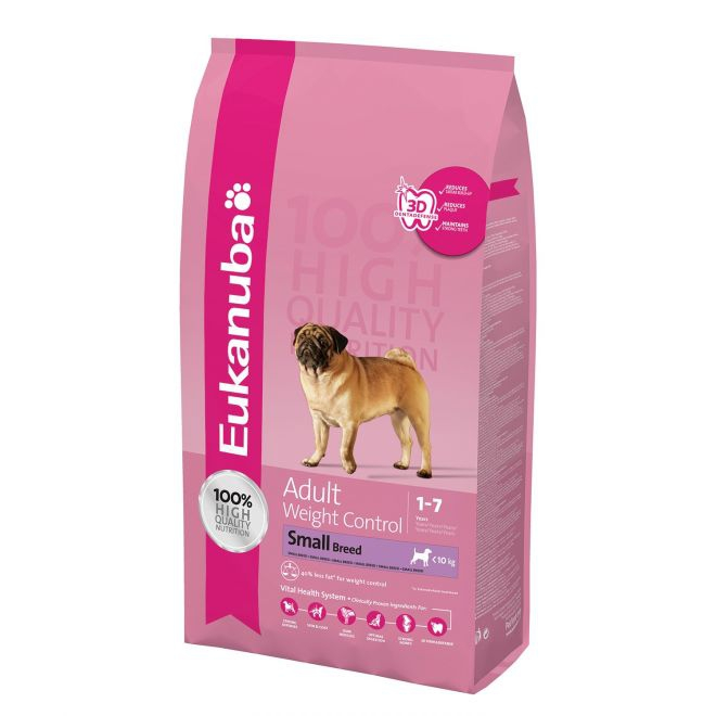 Eukanuba Adult Weight Control Small Breed (3 kg)**