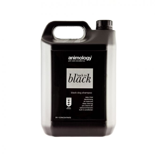 Animology Back To Black Shampoo (5 l)**