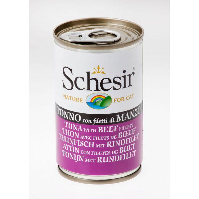 Schesir Tonfisk & Biff (140 gram)