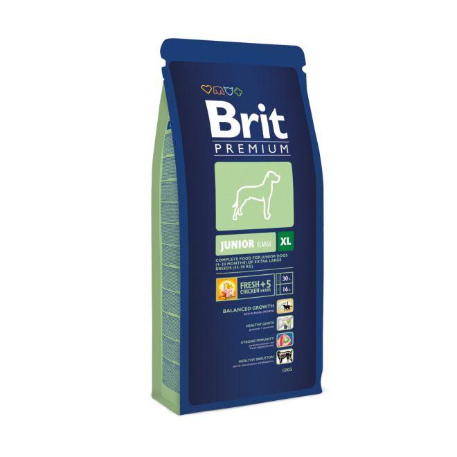 Brit Premium Junior ExtraLarge (15 kg)**