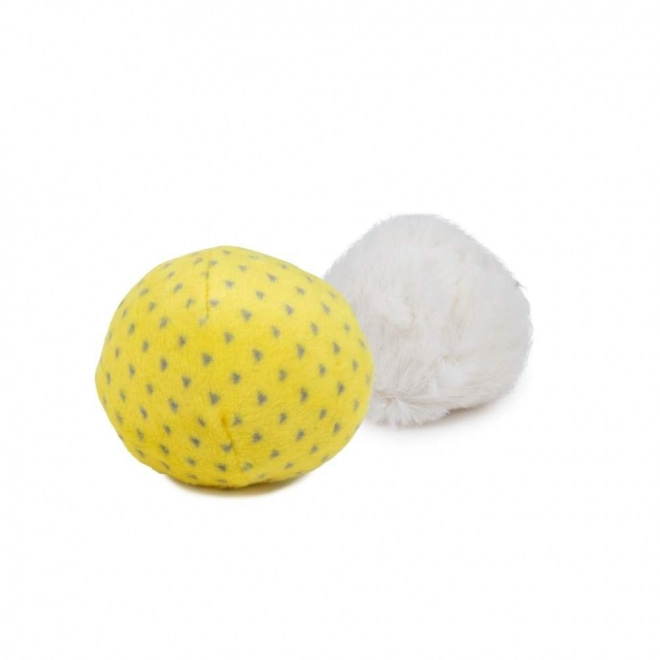 Little&Bigger PastelClouds Textil Bollar 2-pack