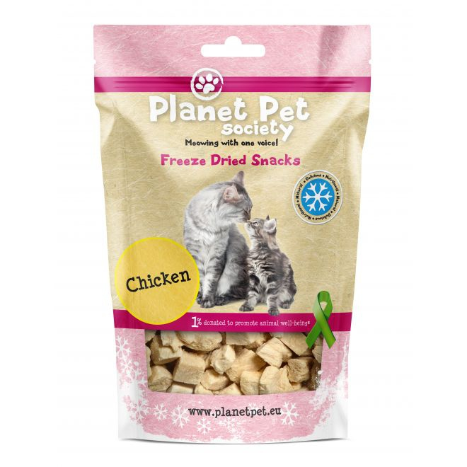 Planet Pet Freeze Dried Chicken Meat  (30 gram)**