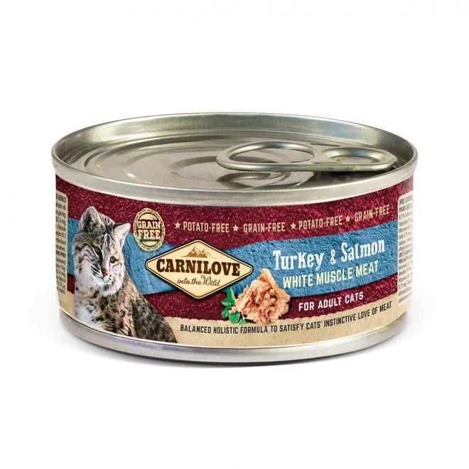 Carnilove Cat Kalkon & Lax (100 gram)**