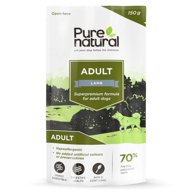 Purenatural Dog Adult Lamb 150 g