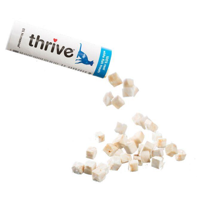 Thrive Vit Fisk Godbitar (15 gram)**