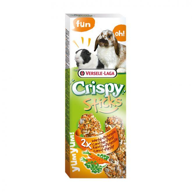 Versele-Laga Crispy Sticks Kanin-Marsvin Morot & Persilja (2x110 g)
