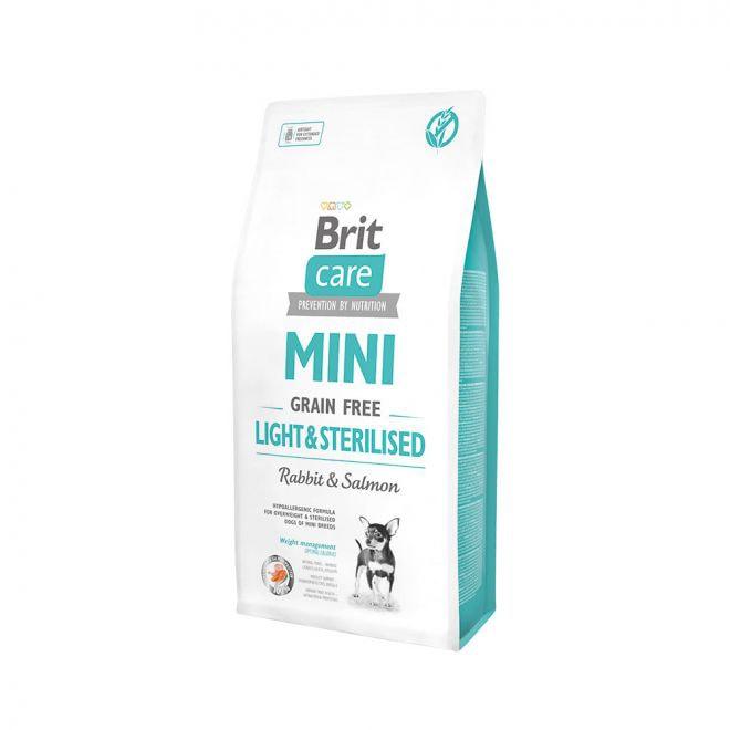 Brit Care Mini Grain Free Light&Sterilised (7 kg)