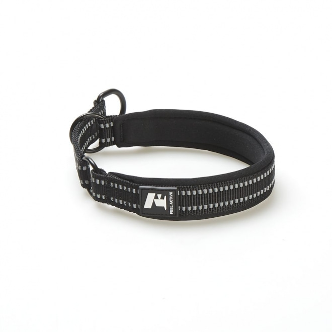 Feel Active Padded Limited Slip Halsband Svart