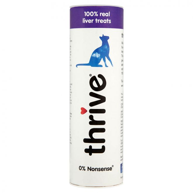 Thrive Kycklinglever Godbitar (25 gram)**