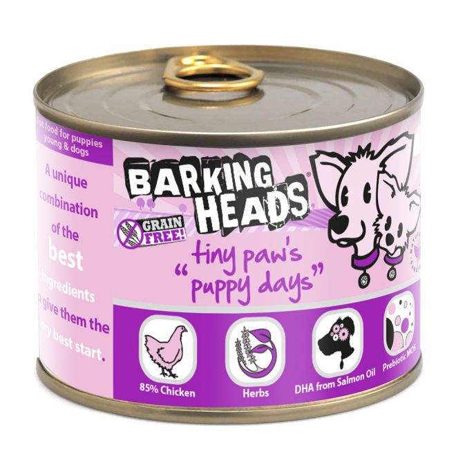 Barking Heads Puppy Days Kyckling (200 gram)**
