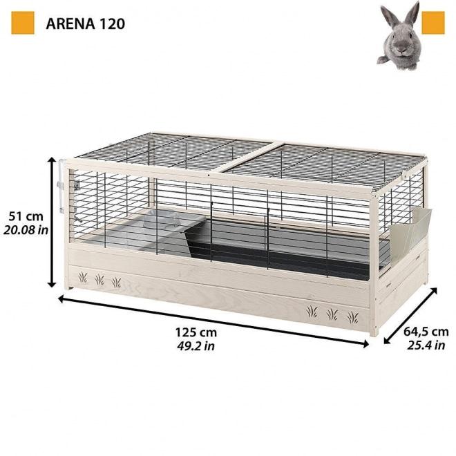 Ferplast Arena 120 125x64,5x51 cm