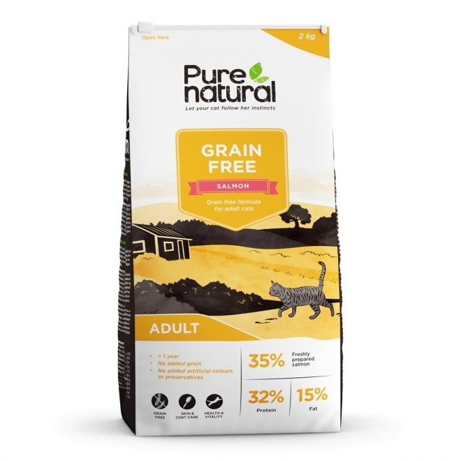 Purenatural Cat Adult Grain Free Salmon