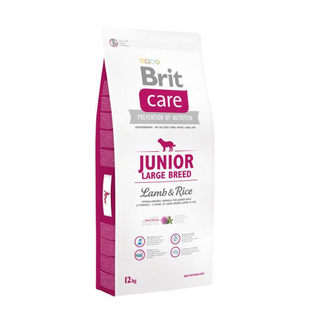 Brit Care Junior Large Breed Lamb & Rice (12 kg)