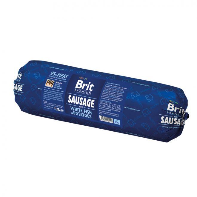 Brit Köttkorv Vit Fisk & Potatis (800 gram)**