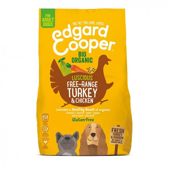 Edgard & Cooper Dog Ekologisk Kalkon & Kyckling