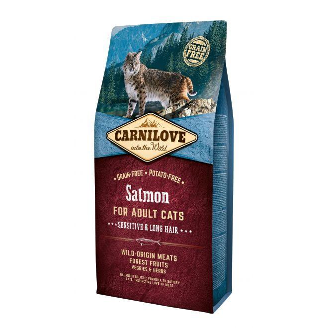 Carnilove Cat Adult Sensitive Lax**
