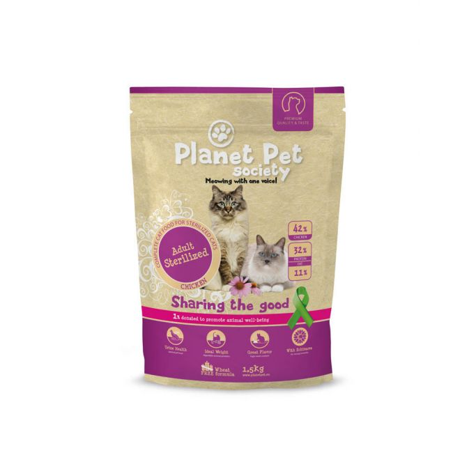 Planet Pet Society Cat Sterilized