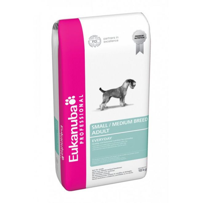 Eukanuba Adult EveryDay Mini & Medium Breeder (18 kg)