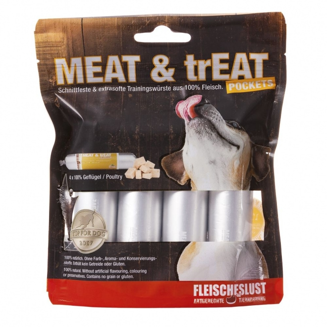 MEAT & trEAT-Pockets Poultry 4x40g