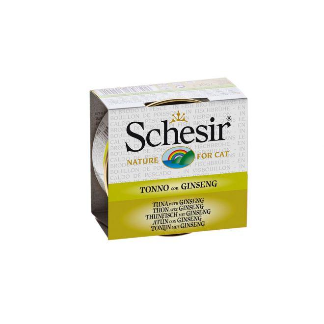 Schesir Tonfisk & Gingseng (70 gram)**