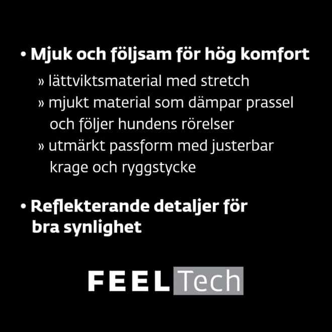 Feel Active Kiruna Regnjacka Svart