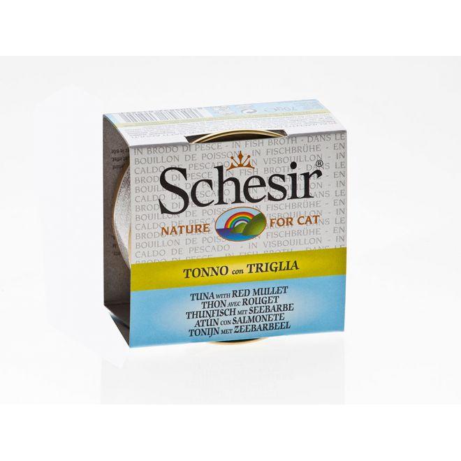 Schesir Tuna & Red Mullet (70 gram)**