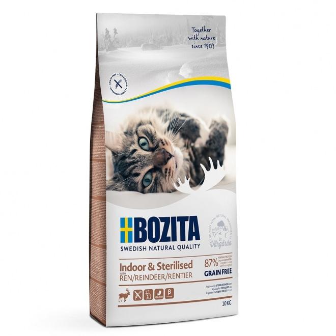 Bozita Indoor & Sterilised Grain Free Reindeer (10 kg)