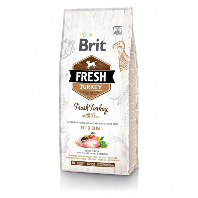 Brit Fresh Turkey with Pea Light Fit & Slim (12 kg)