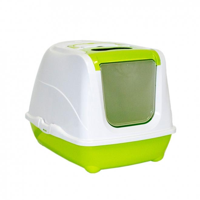 Moderna Kattoalett Flip Cat (Lime)**